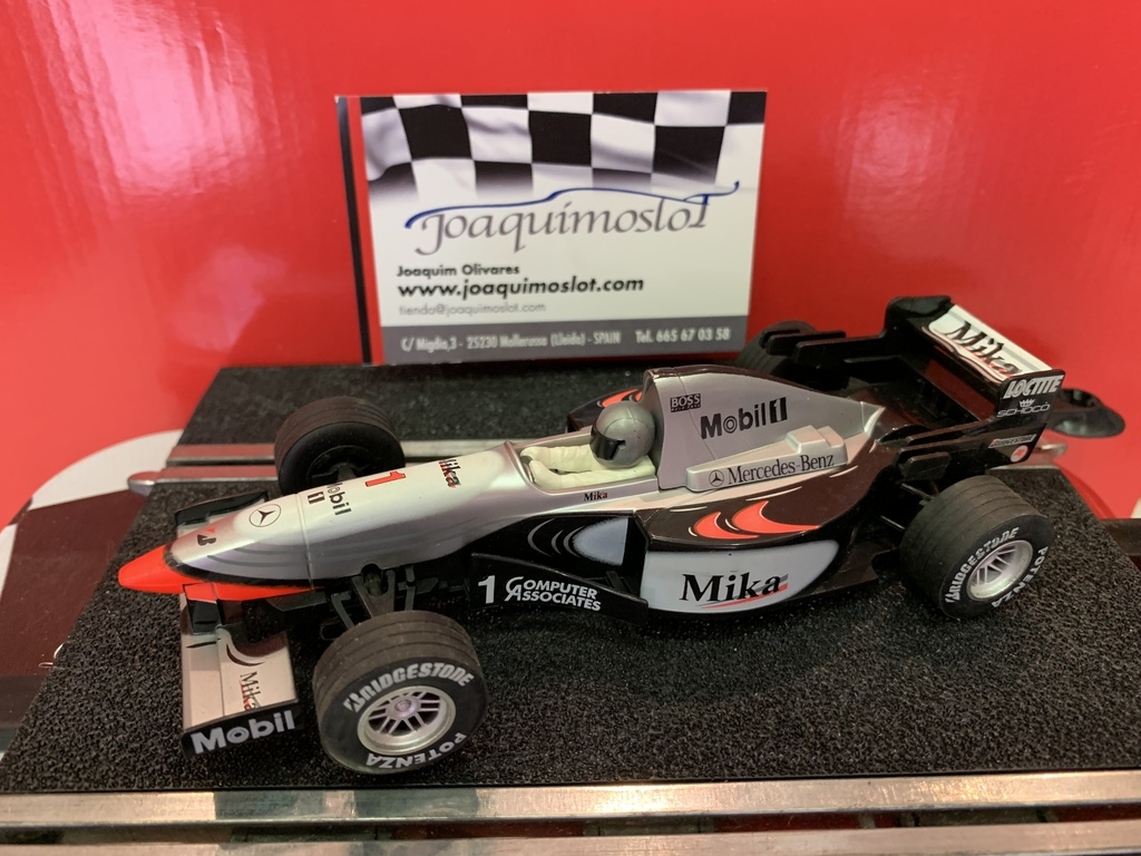 superslot f1 mc laren mercedes mika nº1