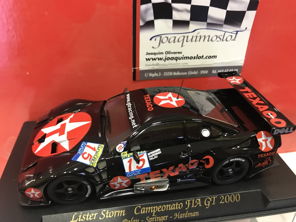 lister storm campeonato fiat gt 2000