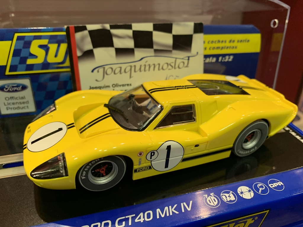 superslot ford mkiv 1967 sebring 12 hours winner