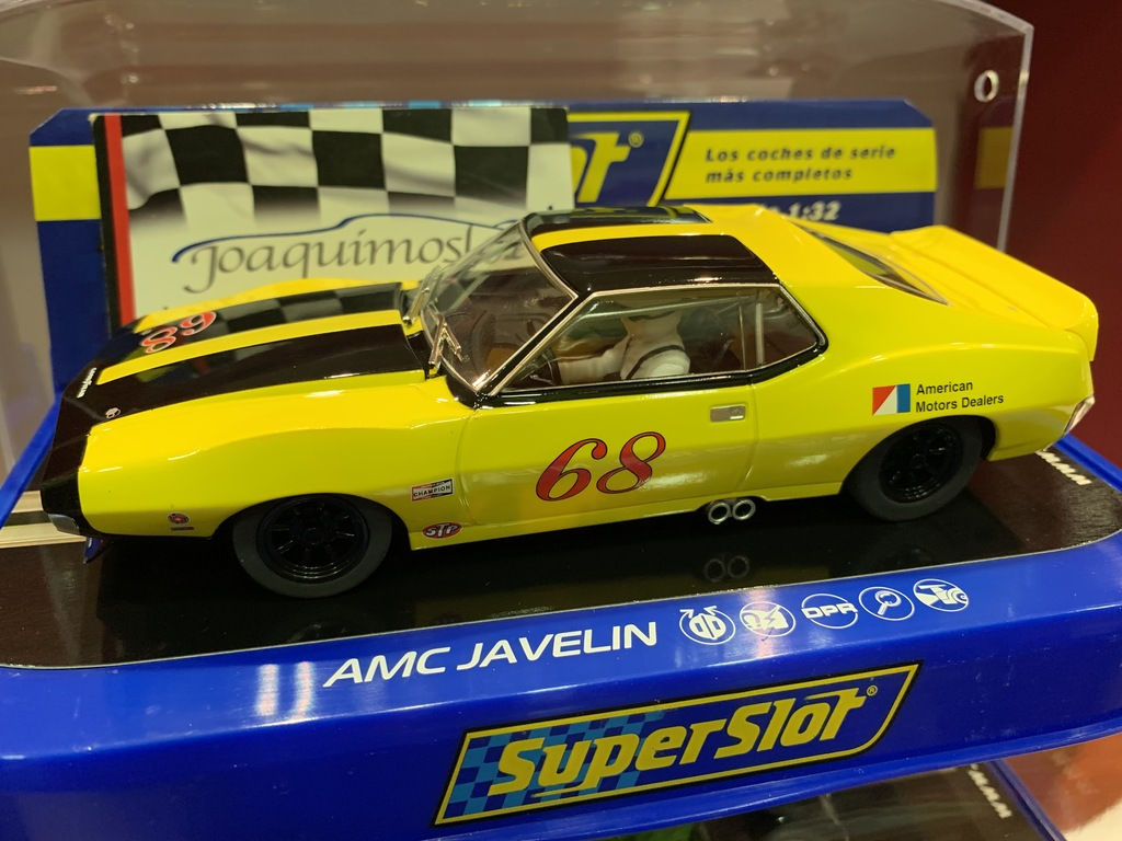 superslot amx javelin trans am roy woods 1971 #68