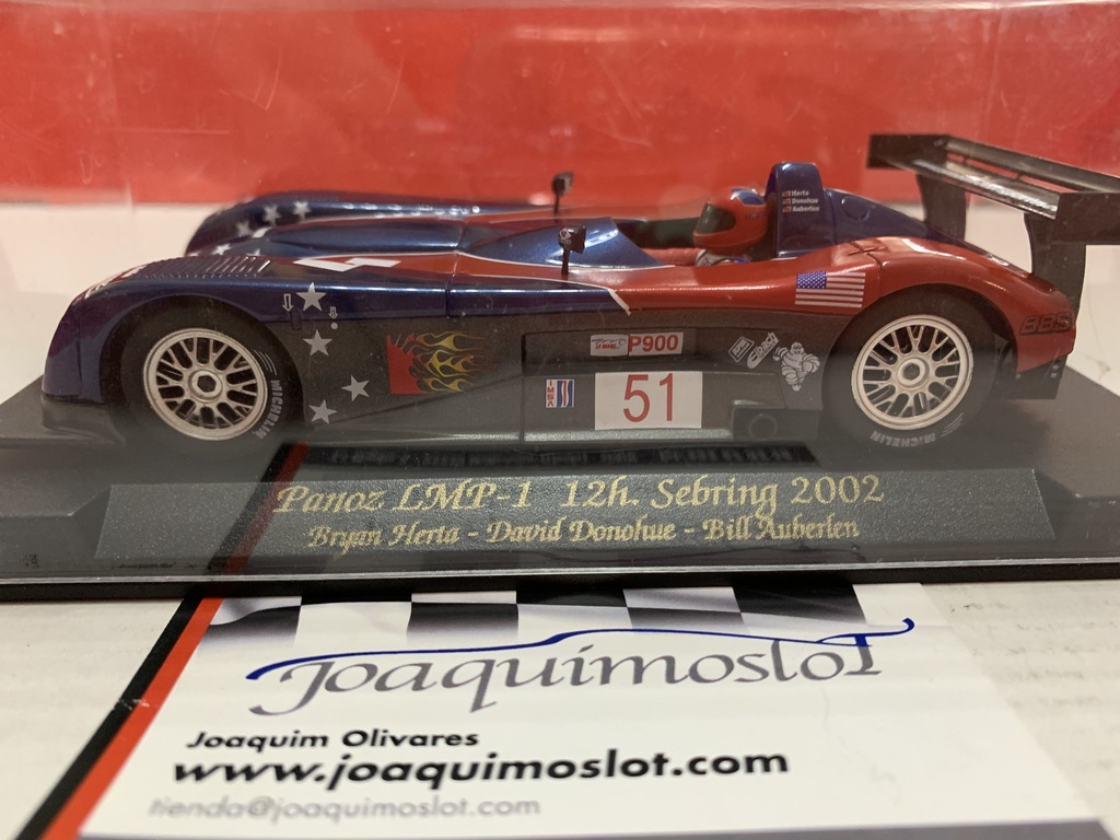 fly panoz lmp-1 12h. sebring 2002 racing #51