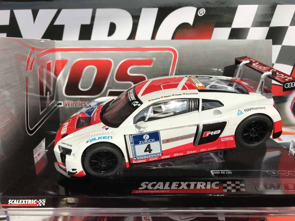 "audi r8 lms "" 24h nbr "" scalextric wos"