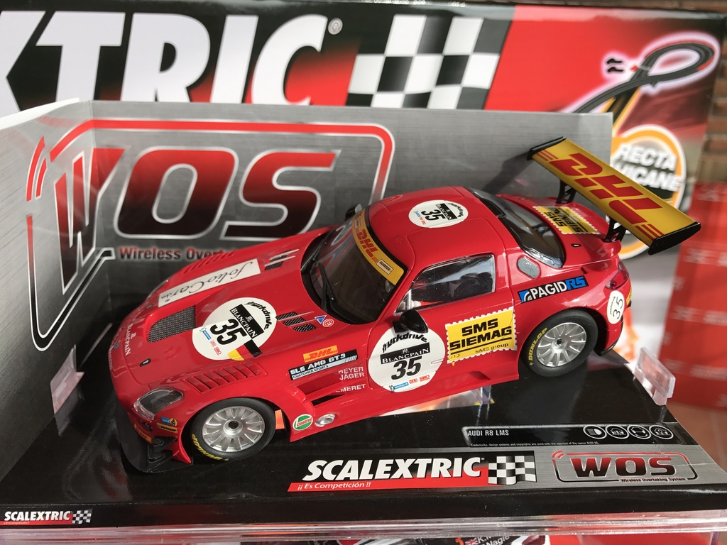 "exclusivo mercedes sls scalextric wos ""dhl"""