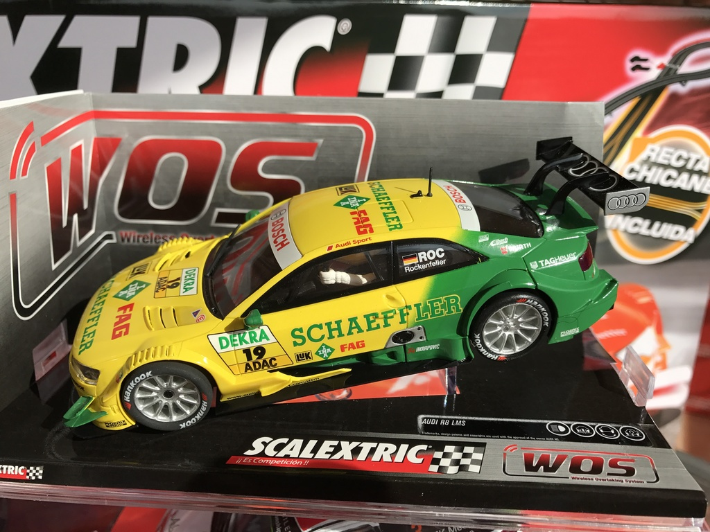 "exclusivo audi a5 dtm "" rockenfeller"" scalextric wos"