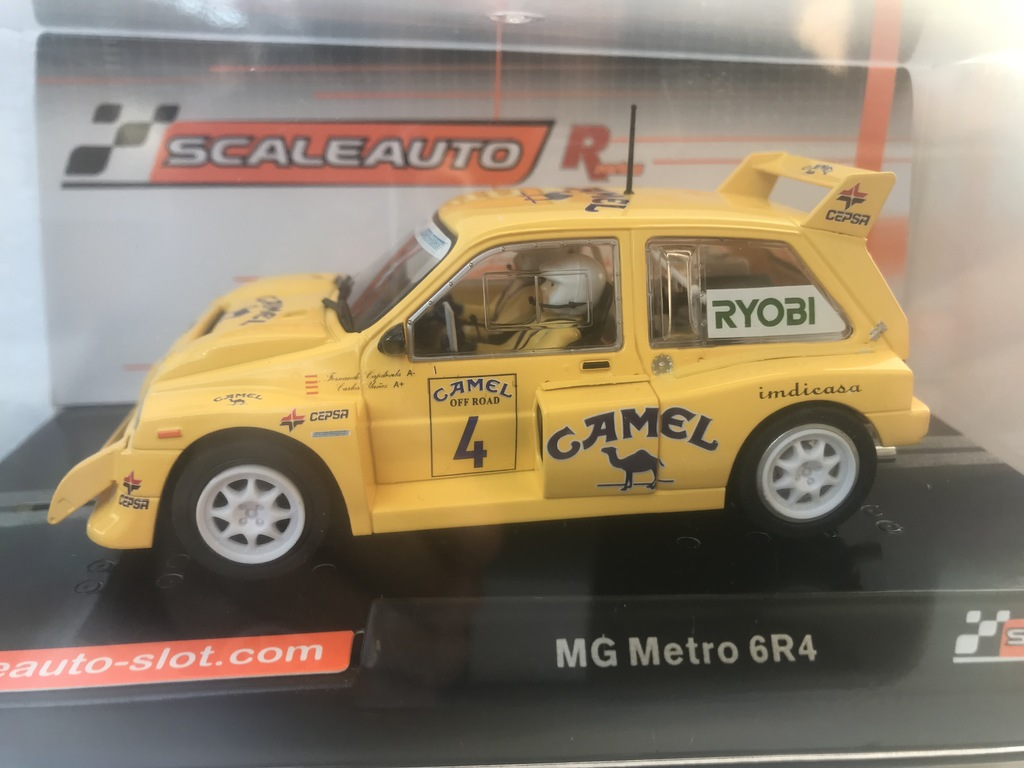 scaleauto mg metro 6r4 r-version aw camel off road 1991