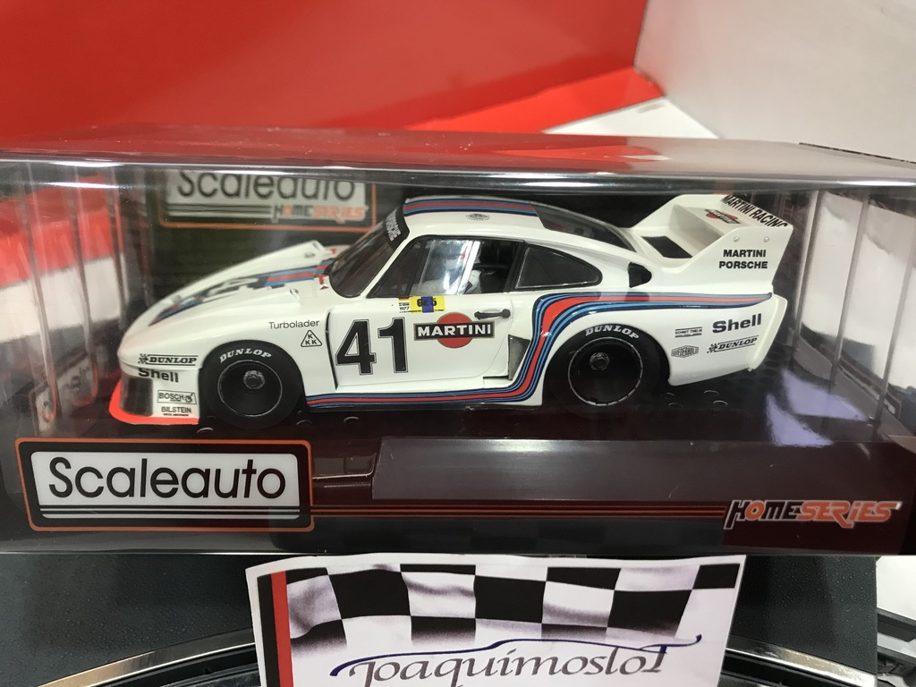 scaleauto porsche 935-77 lemans 1977 #41 martini